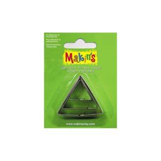 Set 3 cortadores triángulos