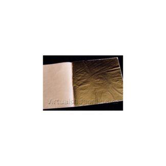 Pan de oro falso (hoja)