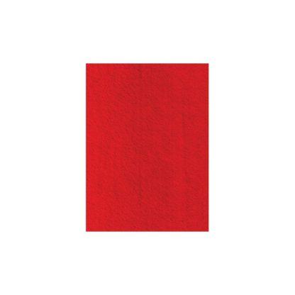 Lámina de fieltro rojo, 1mm