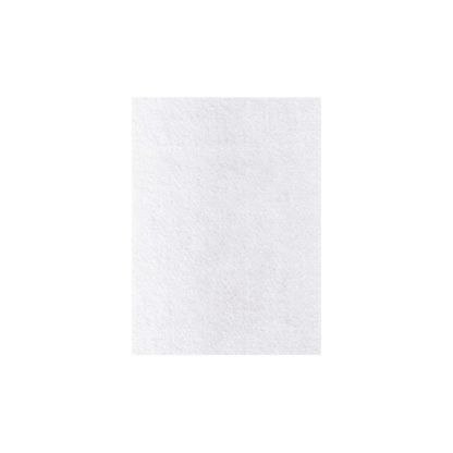 Lámina de fieltro blanco, 3mm