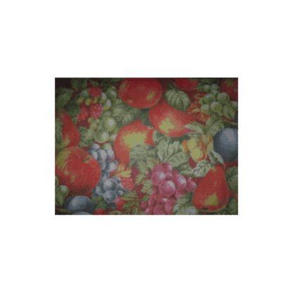 Lámina de fieltro estampado frutas, 3mm