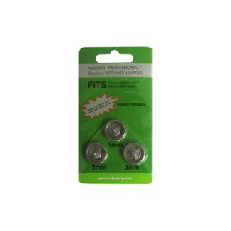 Set 3 adaptadores de 1, 2 y 3 mm. para extrusora profesional