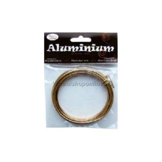 Hilo de aluminio color Oro