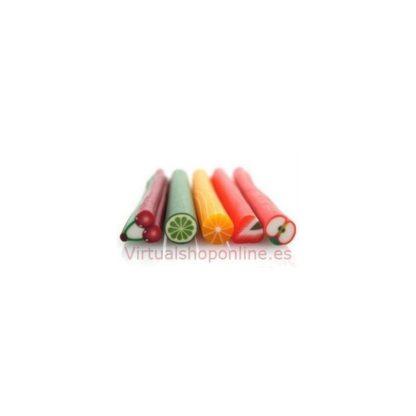 5 murrinas de frutas arcilla polimérica