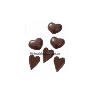 Moldes de plástico corazones