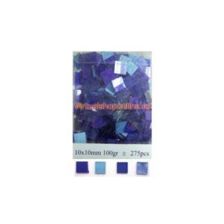 Mosaicos cristal, Azules