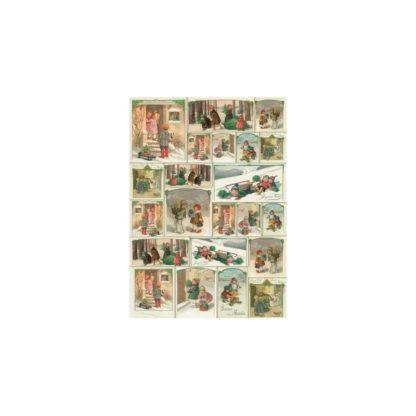 Papel Decoupage Clásico 50x70 cm.