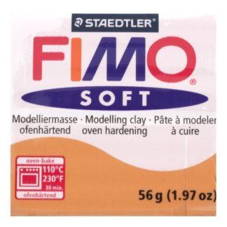 Pastilla FIMO SOFT color Coñac, 56gr.