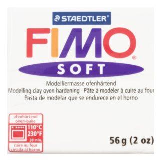 Pastilla FIMO SOFT color Blanco, 56gr.