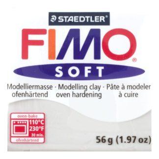 Pastilla FIMO SOFT color Gris, 56gr.
