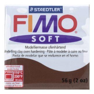 Pastilla FIMO SOFT color Chocolate, 56gr.