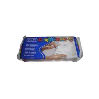 Pasta para modelar, blanca 500gr.