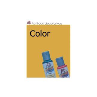 Bote pintura acrílica color Amarillo Cadmio oscuro, 50ml