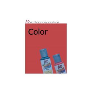 Bote pintura acrílica color Bermellon , 50ml