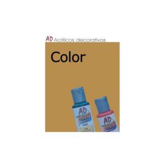 Bote pintura acrílica color Amarillo Ocre , 50ml