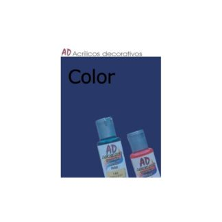 Bote pintura acrílica color Azul ultramar , 50ml