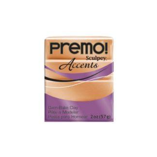 Pastilla Premo! Sculpey Accents color cobre, 56gr