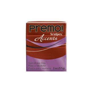 Pastilla Premo! Sculpey Accents color bronce, 56gr