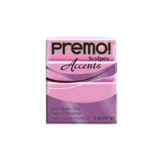Pastilla Premo! Sculpey Accents color Magenta perlado, 56gr