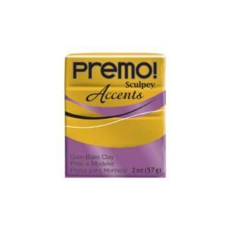 Pastilla Premo! Sculpey Accents color Oro antiguo, 56gr