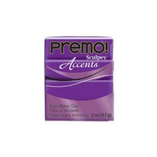 Pastilla Premo! Sculpey Accents color Púrpura, 56gr