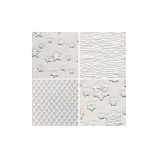 Set D de 4 placas para hacer texturas