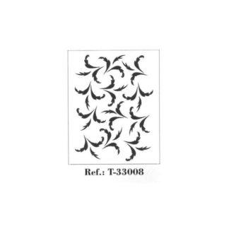 Stencil 29,7 x 42 cm.