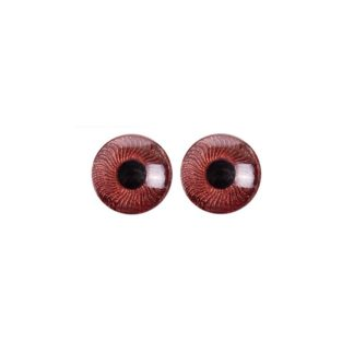 Ojos Iris marrón, 5 mm