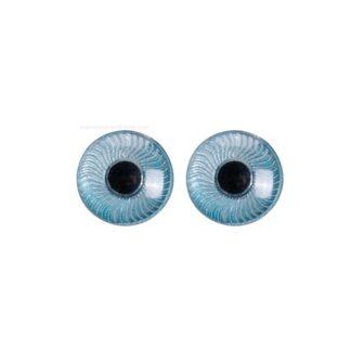 Ojos Iris azul, 5 mm