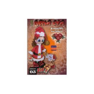 Revista fofuchas Arte GOMA EVA Especial Navidad Nº 3