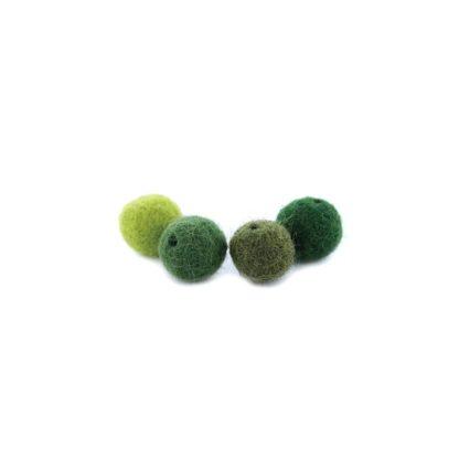 bolas de fieltro 5