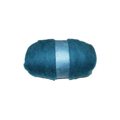 Lana de fieltro color turquesa
