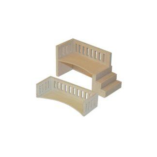 2 Balcones de madera