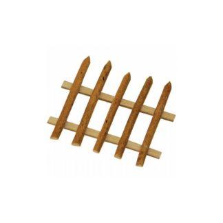 Vallas de madera, 5 x h4 cm.