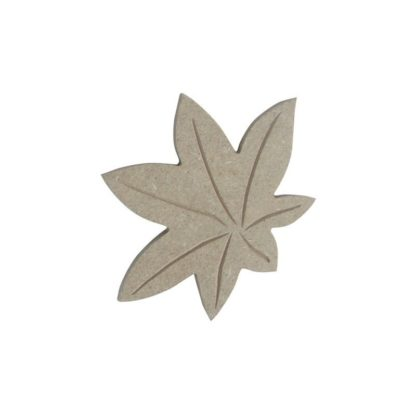 Hoja estrella (7x9 cm.)
