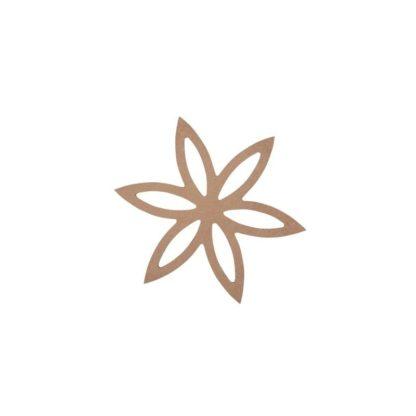 Flor 12 x 10,5 cm.