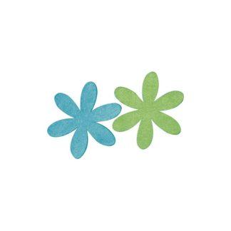 Surtido margaritas verde y azules 6 y 9 CM