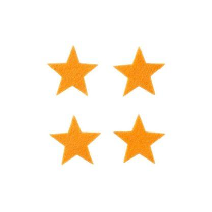 Surtido estrellas naranjas 3cm