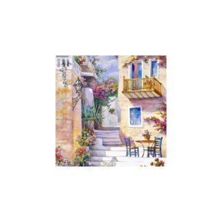 Servilleta decorated staircase