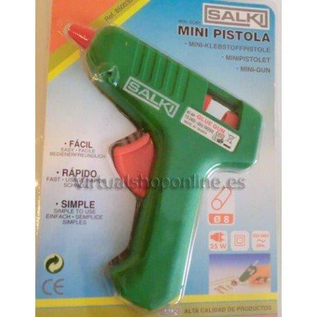 pistola de silicona con gatillo
